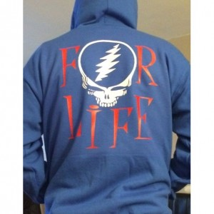 Dead For Life Zip Up Hoodie