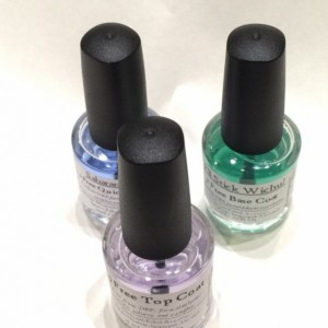 Perfect Mani Trio - Set of one each I'll Stick Wichu Base Coat, Saharan Safari Quick Dry Oil and Crystal Clear Top Coat - Vegan, 5-free