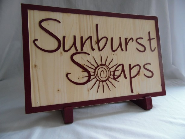 Stand for Custom Business Sign