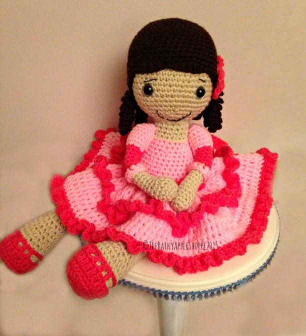 Amigurumi Doll Dolls Crochet Doll Princess Doll Stuffed Doll