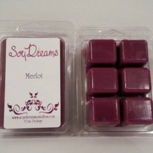 Merlot - Soy Tart Melts - Set of 3