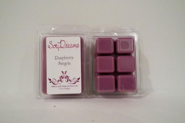 Raspberry Sangria - Soy Tart Melts - Set of 3