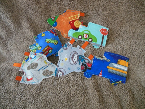 Crinkle Toy - Let's Go! - Set of 2