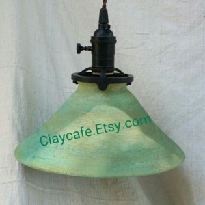 Hand Crafted Pottery Industrial Ceiling Light Hanging Pendant Lighting Are you remodeling? Or have a restaurant?