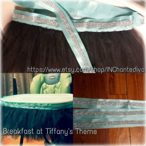 Highchair tutu to match your theme!