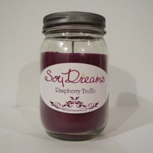 Raspberry Truffle - Soy Candle Jar