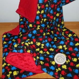Dino Minky Baby Blanket