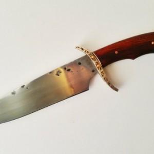 W2 Fighting Knife with Hamon