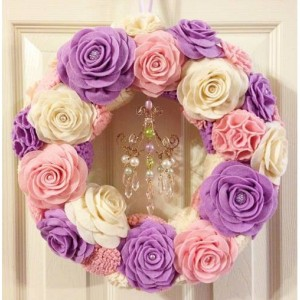 Handmade Chandelier Wreath