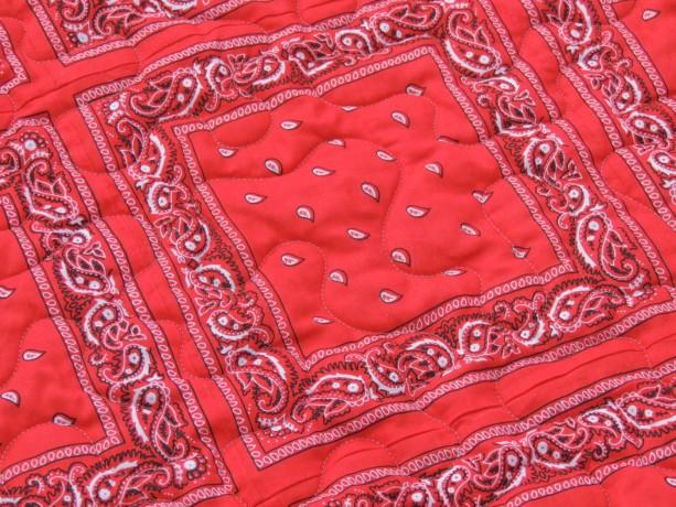 Bandana Quilt Red And Denim Western Cowboy Blanket Aftcra