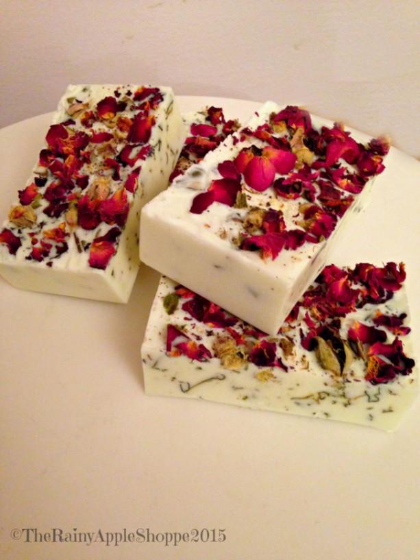 Rose Soap Handmade Soap Rose Petals Valentines Day