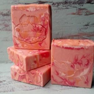 Fresh Cut Roses Handmade Luxury Soap