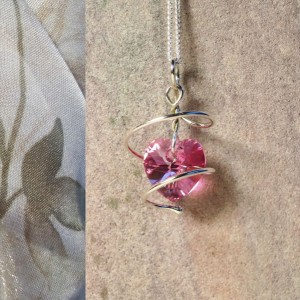 You've Captured My Heart - Argentium Silver Pendant