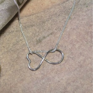 Forever Yours Argentium Silver Pendant