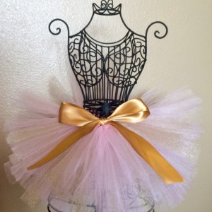 Pink and Gold Tutu, Princess Tutu, Baby Tutu, Toddler Tutu, READY TO SHIP, Pink Tutu, Gold Glitter Tutu, Birthday Tutu, Holiday Tutu