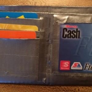 Handmade Custom Bi-fold Duct Tape Wallet Bilfold