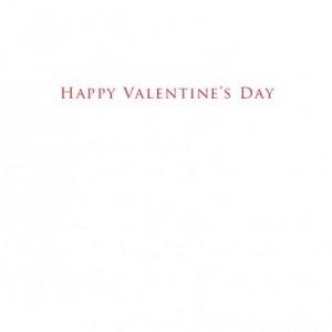 """Deer Skull 5""""x7"""" Valentine Card Set of 2"""