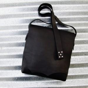Black Possibles Bag Handmade Rustic Leather Cross Body Hand Stitched Leather Messenger Bag Leather Satchel Bret Cali Bag Shoulder Bag