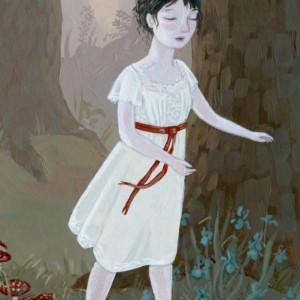 The Somnambulist - Sleepwalker Illustration - 11x14 Print