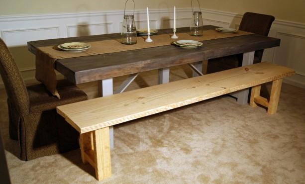 Farm Table Bench