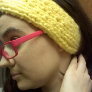 Big Hero 6 Honey Lemon Inspired Knitted Twisty Headband