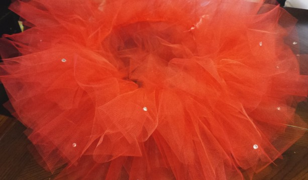 ANY Color Tutu with silver rhinestones