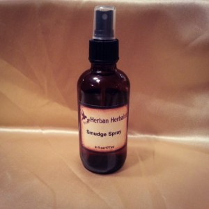 Smudge Spray, room spray, cleansing spray, sage spray, energy clearing