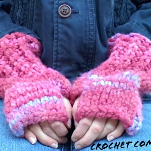 Women's Fingerless Gloves, Women's Gloves, Fingerless Gloves, Fingerless Mittens, Striped Wool Mittens, Winter Accessories, Pink Gloves