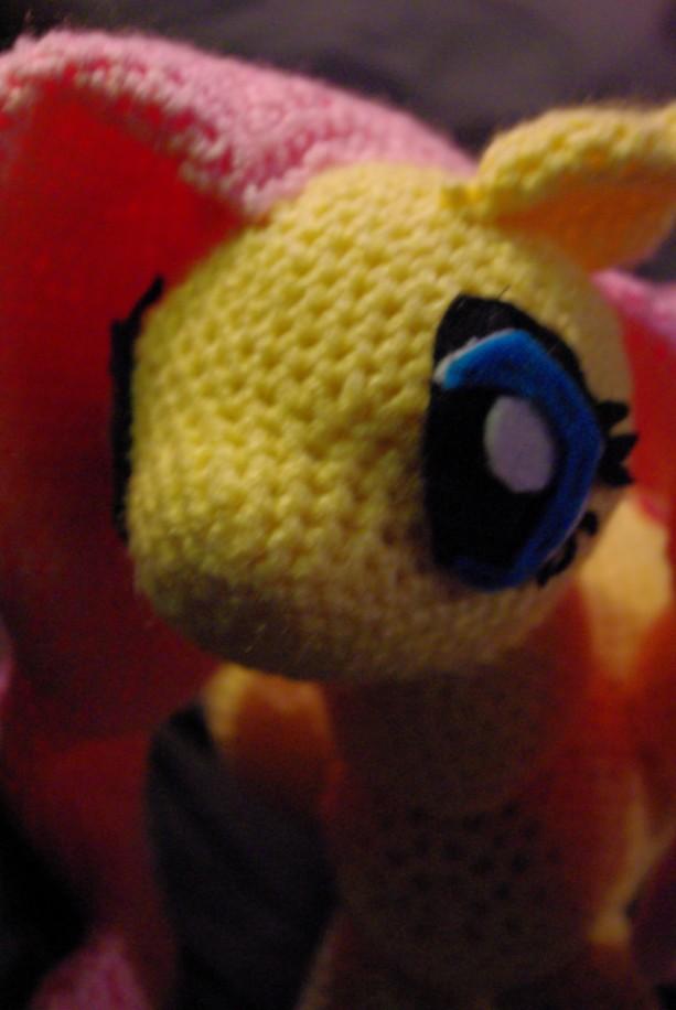My Little Pony Fluttershy Crochet Amigurumi Plush 12 Inch Aftcra