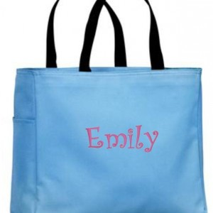Personalized Tote Bag, Monogrammed Tote Bag, Personalized Tote, Personalized Gift, Bridesmaid Gift, Bridesmaid Tote, Canvas Tote, Embroidery