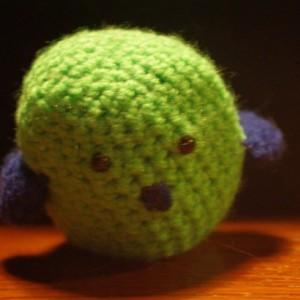 Ami Crocheted Lovebird