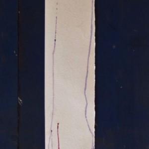 """5x22 Zen Watercolor painting """"Surrender"""""""