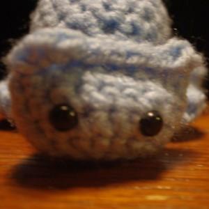 Single Color Chunky Kitty Crochet Ami Plush