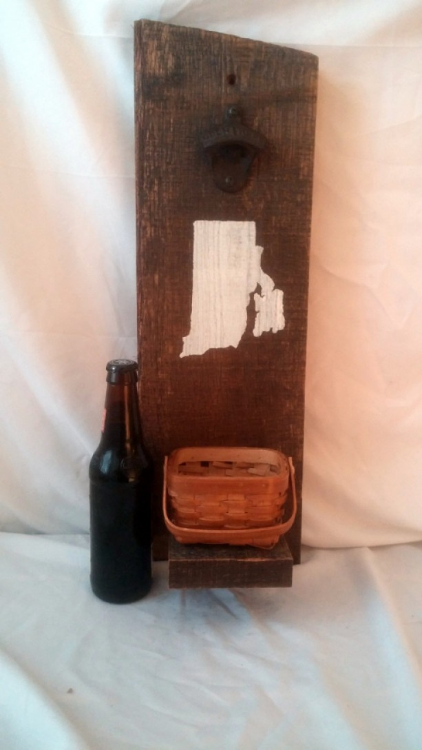 Wall mounted personalized rustic bottle opener aftcra - Personalized wall mount bottle opener ...