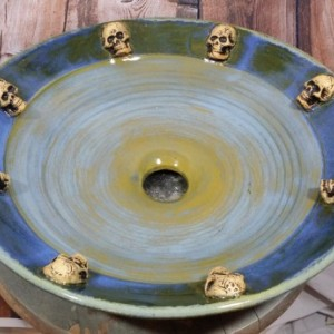 Handcrafted Pottery Vessel Sink