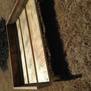 Rustic Wooden Pet Bed