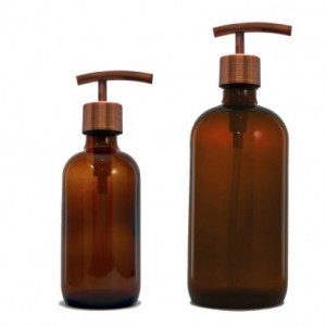 Antique Copper Replacement Soap Pump, Lotion Dispenser Pump, Modern Style, Stainless Steel 2cc High Quality 28/400 DIY