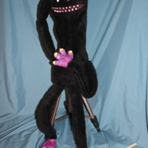 K'rupt Handmade OOAK Puppet Monster Custom Fun for Everyone full-body soft sculpture