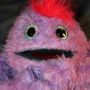 Fluzzle Handmade OOAK Puppet Monster Custom Fun for Everyone full-body soft sculpture