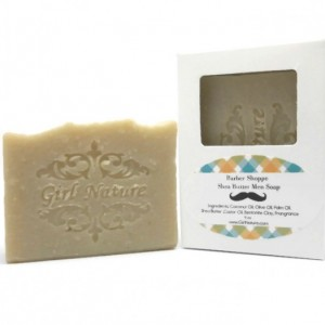 Barber Shoppe Soap Luxury Men Soap with Shea Butter and Bentonite Clay