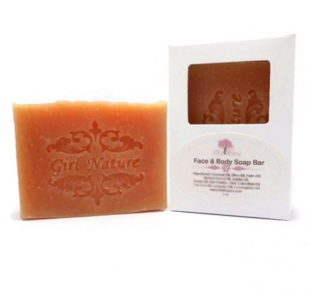 Tea Tree Lavender Soap Face and Body Luxury Soap with Tea Tree, Lavender and Lemongrass Essential Oils