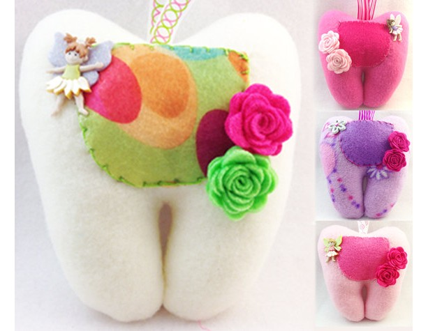 Handmade Tooth Fairy Pillows