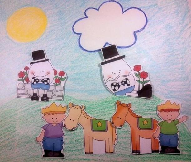 Felt Board Rhymes, Humpty Dumpty, Flannel Board Story, Quiet Book, Busy Book, Homeschool, Preschool, Teacher Resource, Nursery Rhymes