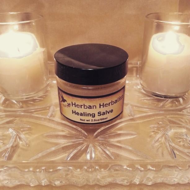 Healing Salve, herbal healing salve, all natural salve, dry skin, damaged skin, ointment, skin balm, natural skin balm, herbal balm