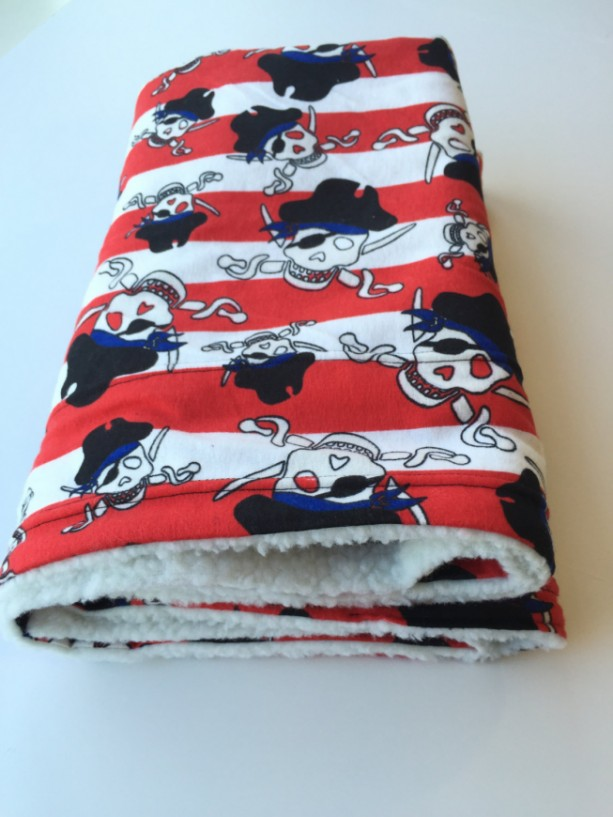 Ahoy Matey, Pirate Dog Blanket, Pet Blanket, Pirate Throw, Boy Baby Shower, Dog Throw, Dog Gifts, Pirate Decor, Skulls and Crossbones
