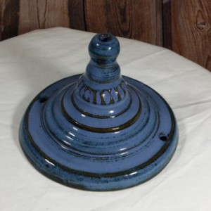 Handcrafted Pottery Ceiling Canopy for you hanging pendant