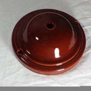 Handcrafted Pottery Ceiling Canopy for your pendant