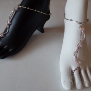 Flirty Sway, Barefoot, Soleless Sandals, Sexy, Dressy, Classy, Handmade item, made to order
