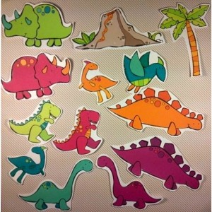 Felt Board Dinosaur, flannel board story, felt board story, homeschool, early childhood, imaginative, montessori, busy book, preschool