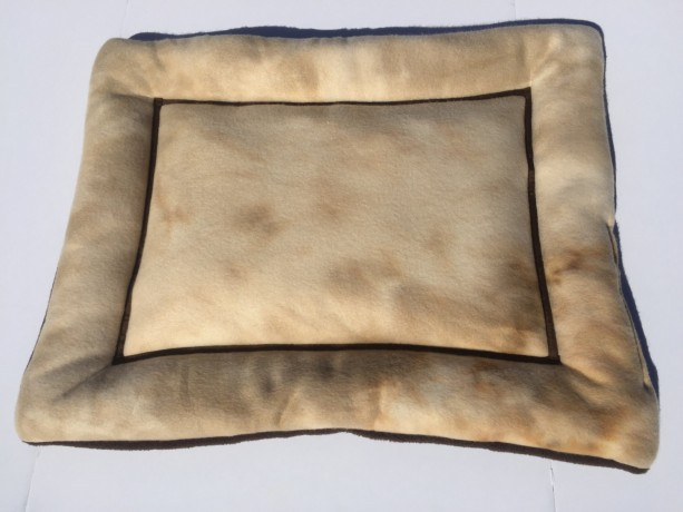 tie dye khaki small dog bed cat mat couch pad dog crate pad f